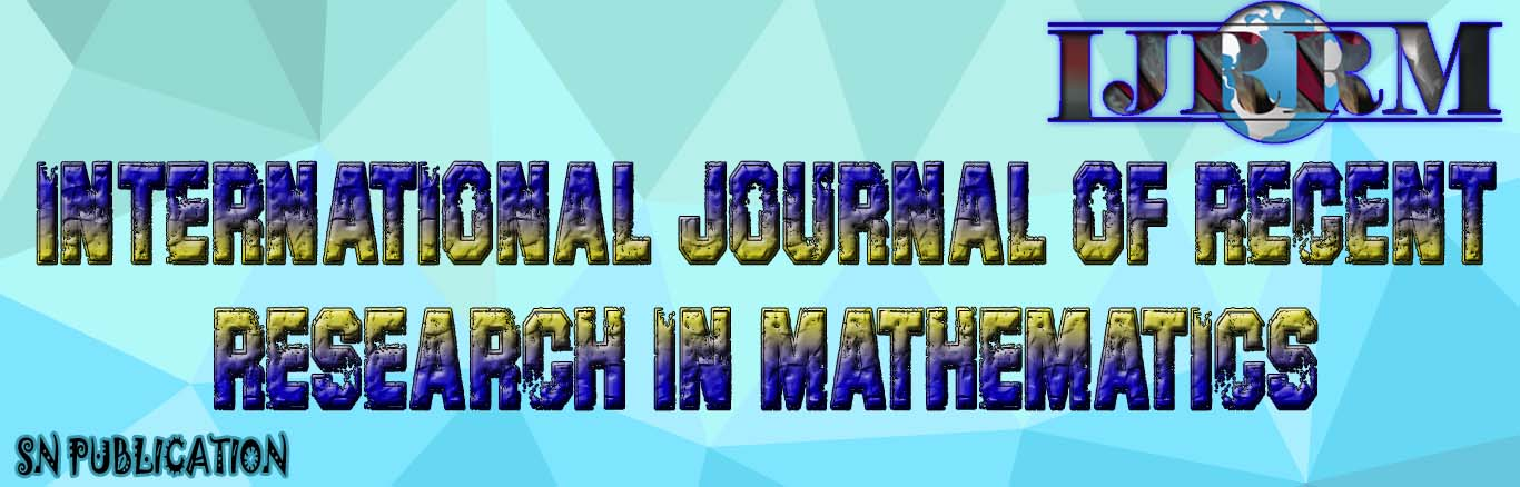 International Journal of Recent Research in Mathematics
