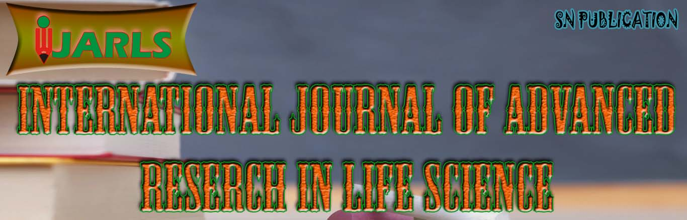 International Journal of Advanced Research in Life Science