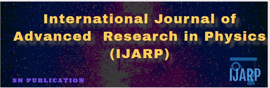 International Journal of Advanced Research in Physics
